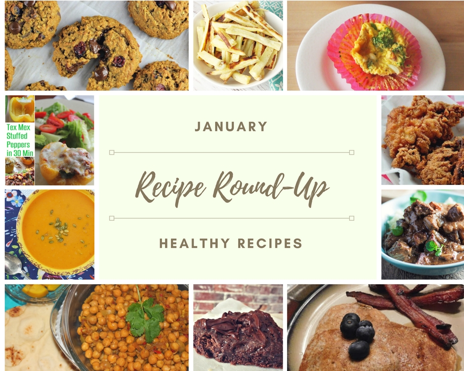 Recipe Round Up January 2018