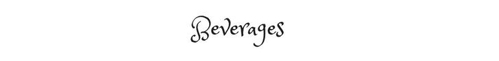 Beverages text